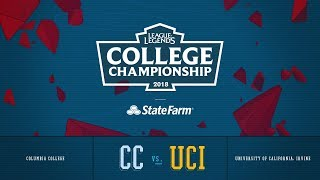 Columbia vs UC Irvine | Finals Game 2 | 2018 College Championship | CC vs UCI
