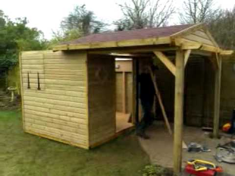 Roll Off Shed Roof Observatory Youtube