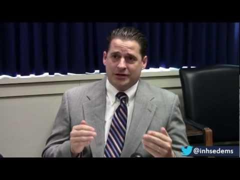 Leader Scott Pelath questions why the Indiana State Legislature isn