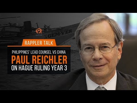 Rappler Talk: Paul Reichler, Philippines' lawyer vs China