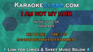 India.Arie ftg. Akon - I Am Not My Hair (Backing Track)