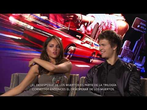 Entrevista: Eiza González, Ansel Elgort (BABY DRIVER)