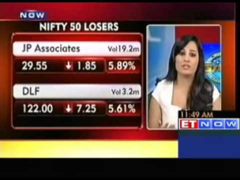 Nifty Slips Below 5600, DLF, Asian Paints Decline