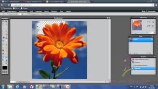 Как сделать прозрачный фон сзади картинки