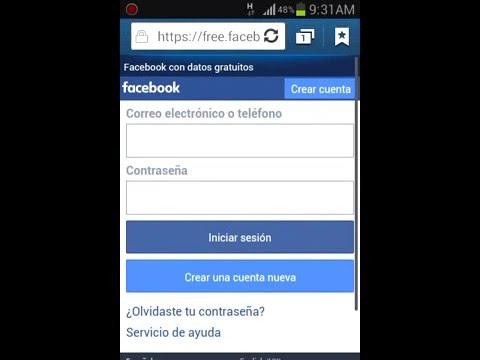 Internet Gratis Como Usar Facebook Gratis Youtube