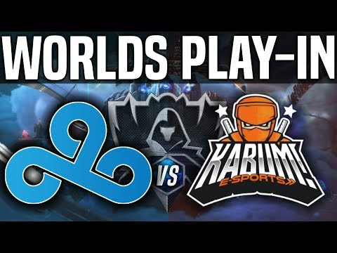 C9 vs KBM - Worlds 2018 Play-In Day 1 - Cloud9 vs Kabum! - Worlds 2018 Play-In Day 1 | Worlds 2018