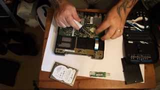Telstra Bigpond T-Box dismantle....to save 320gig HARD-DRIVE...