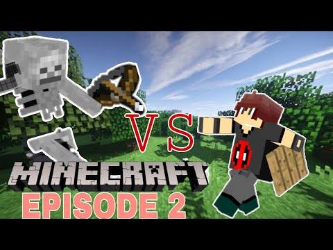 Minecraft Adventure:Episode 2 Building Our House!