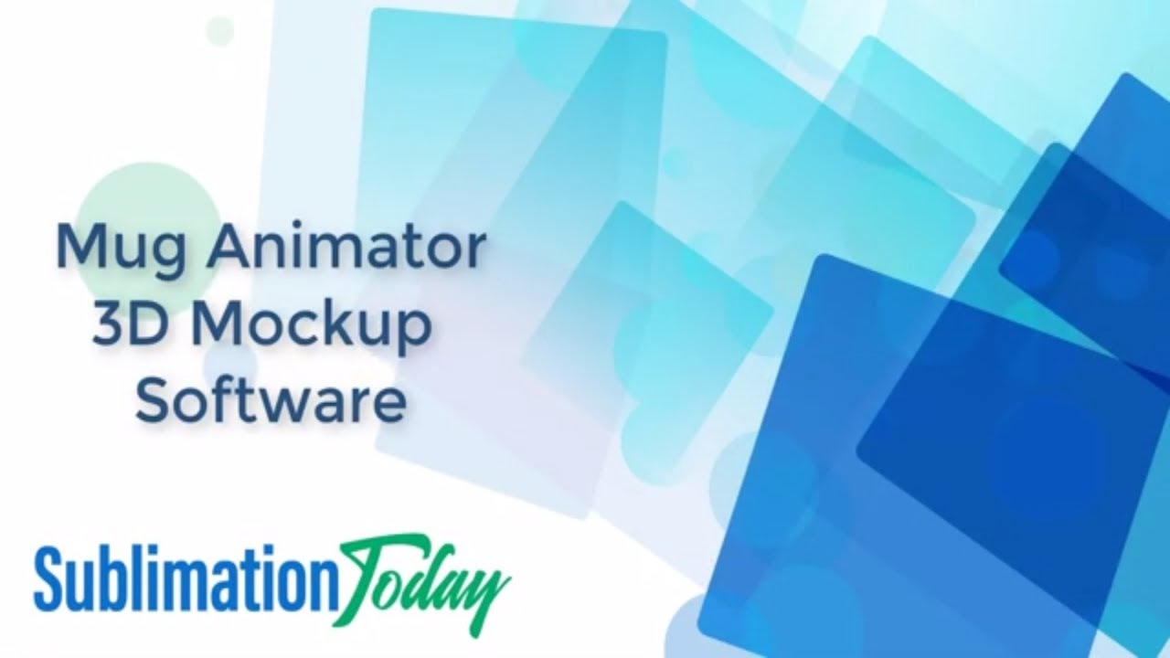 Mug Animator 3d Mockup Software Sublimation Today