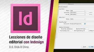 Adobe InDesign - Configurando unidades (cm, mm, etc.)