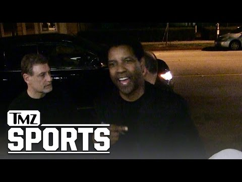 Denzel Washington -- Ezekiel Elliott for MVP!! | TMZ Sports