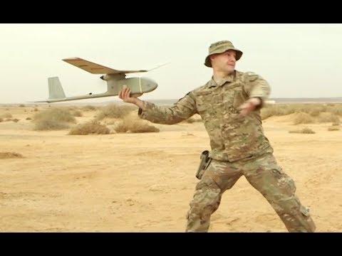 RQ-11B Raven UAV Operator *Airman 1st Class Weaver, USAF
