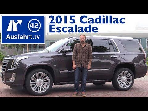 2015 Cadillac Escalade  - Fahrbericht der Probefahrt, Test, Review (German)
