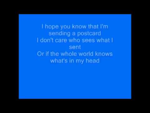 James Blunt - Postcards (lyrics)