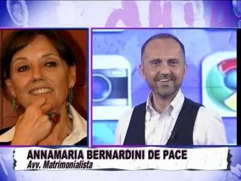 L'Avv BERNARDINI DE PACE SCHERZA SUL PAPA E IL MATRIMONIO