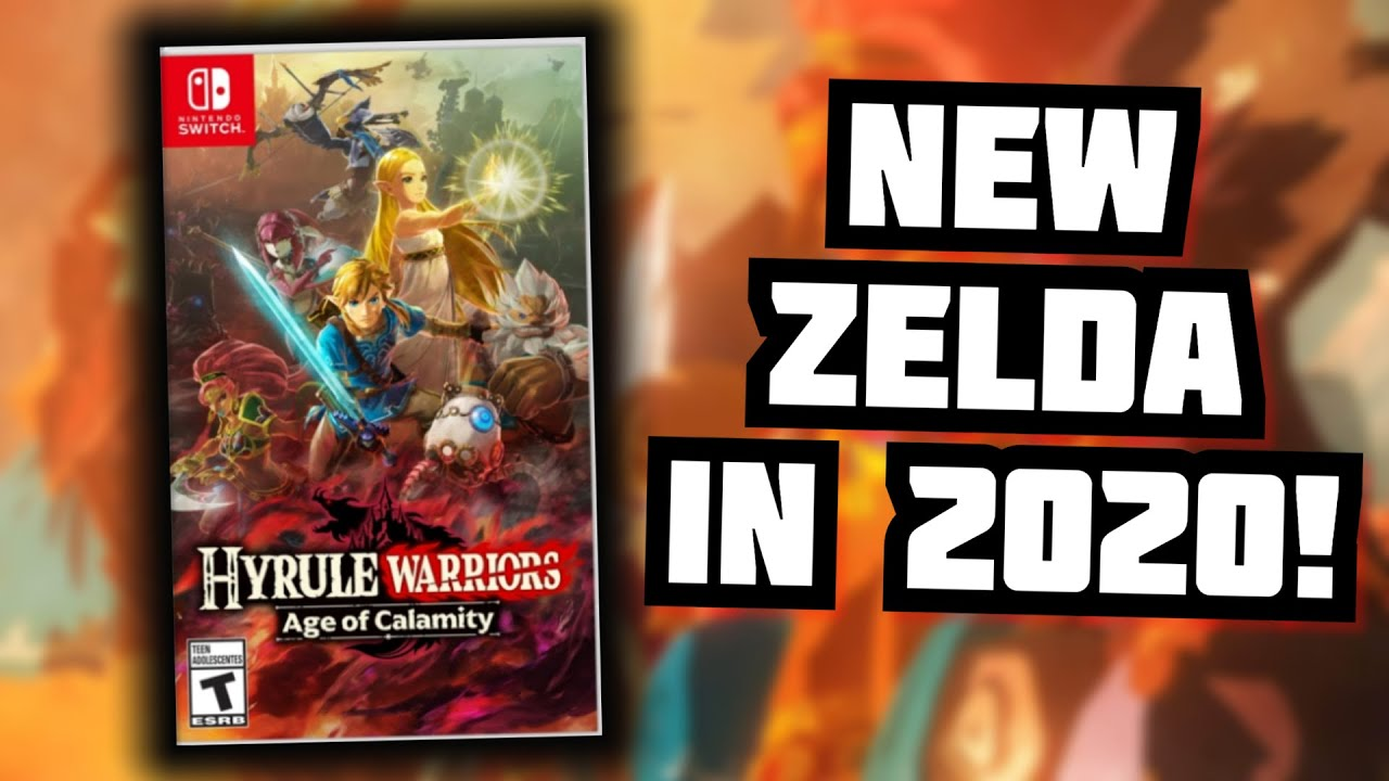 New Zelda For Switch In 2020 Hyrule Warriors Age Of Calamity Reaction Youtube