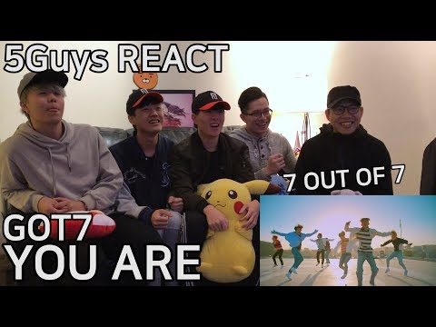 [TRASH FANBOYS] GOT7 - You Are (5Guys MV REACT)