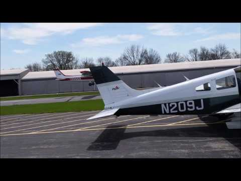 Flying to Terre Haute (Indiana) from Indy Exec (Indiana)