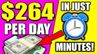 Earn $264.00 in JUST MINS With My 🔥BONUS OFFER!!🔥 (Make Money Online)