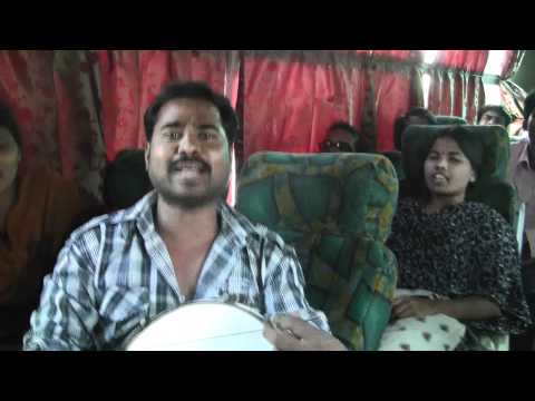 ACF members Song in Freedom fighters Bus Yathra for Telangana