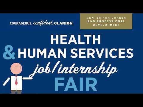 Health & Human Services Job Internship Fair