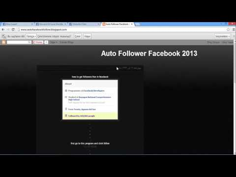 how to get auto followers on facebook free