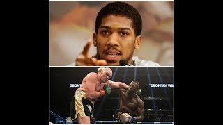 BREAKING NEWS! ANTHONY JOSHUA SENDS A DIRECT MESSAGE TYSON FURY & DEONTAY WILDER