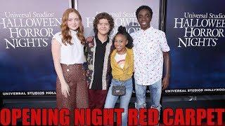 HHN 2018 Opening Night Red Carpet | Halloween Horror Nights Universal Studios Hollywood