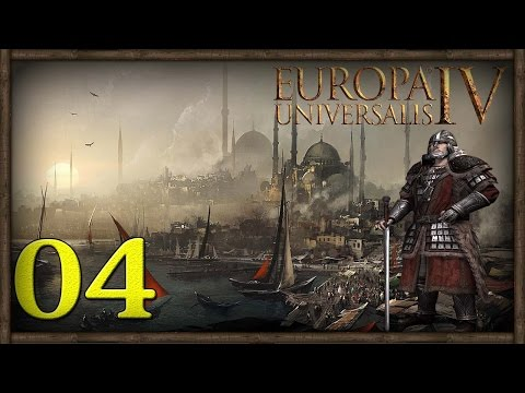 [4] Europa Universalis IV (Byzantium) Restore The Roman Empire |