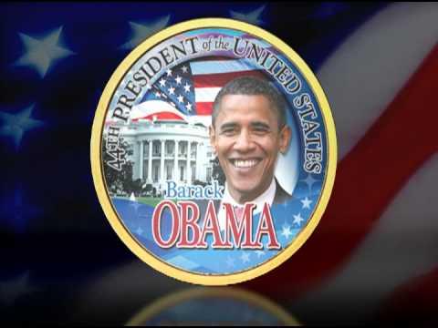 Obama Presidential Coins