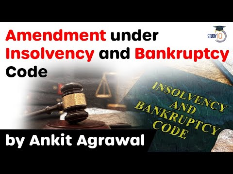 Insolvency and Bankruptcy Code latest amendment - Regulations for Liquidation amended by IBBI #UPSC