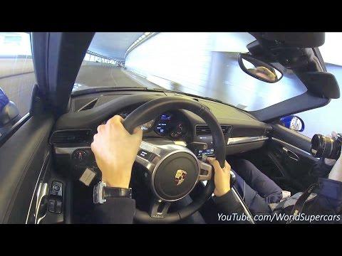 Driving The Porsche Targa 4S in Monaco - Loud Tunnel Sounds!