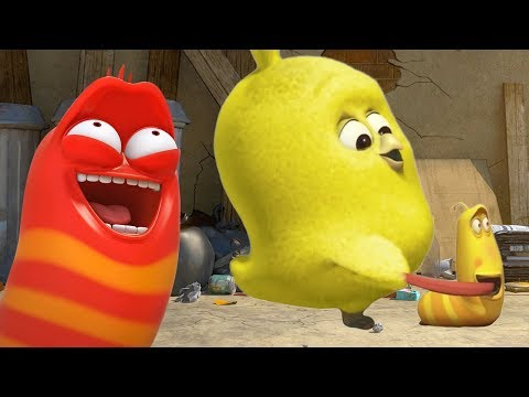 LARVA – A NEW YELLOW FRIEND | Cartoons For Children | LARVA Official
