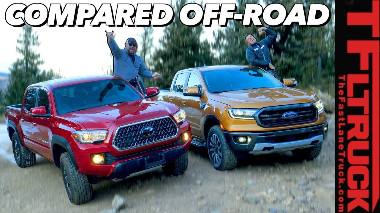 2019 Ford Ranger Fx4 Vs Toyota Tacoma Which Truck Is