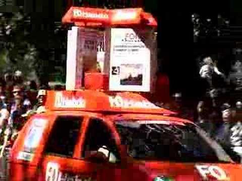Tour De France 2007 - London - Publicity Caravan