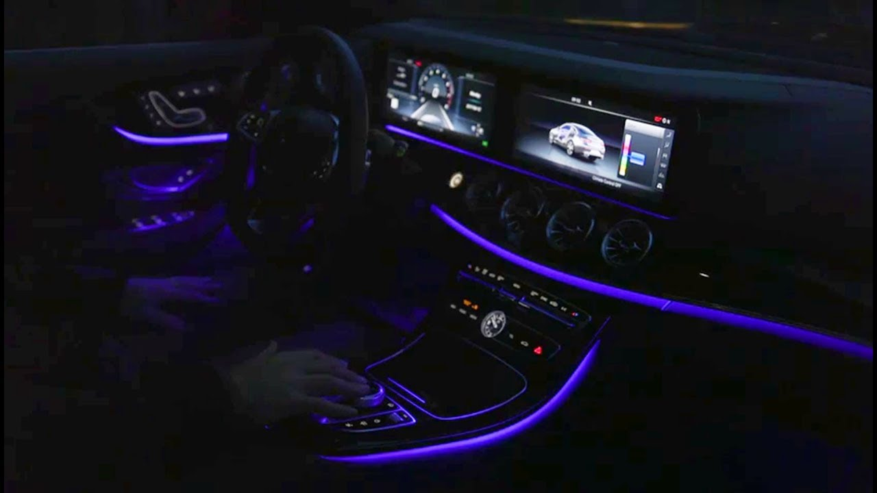 Ambient Lights In The Mercedes E Cl Coupe Interior