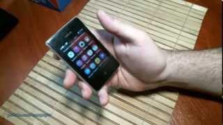 видео Nokia Asha 310 – Dual-Sim телефон с Wi-Fi