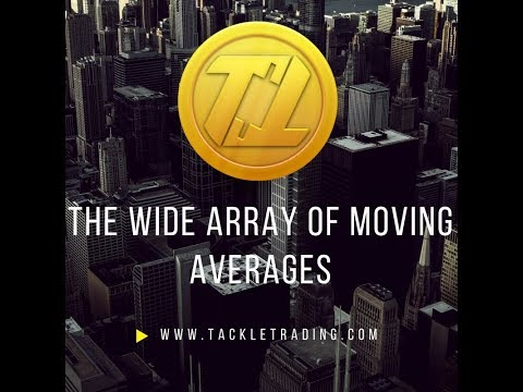 The Wide Array of Moving Averages