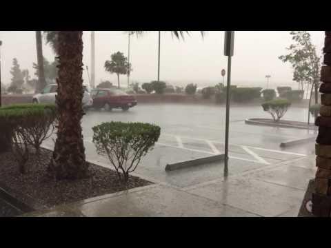 Burger King Las Vegas hail storm