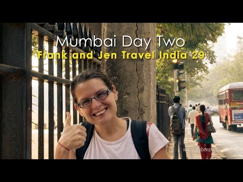 Mumbai Travel Video Part 2 - Frank & Jen Travel India 29