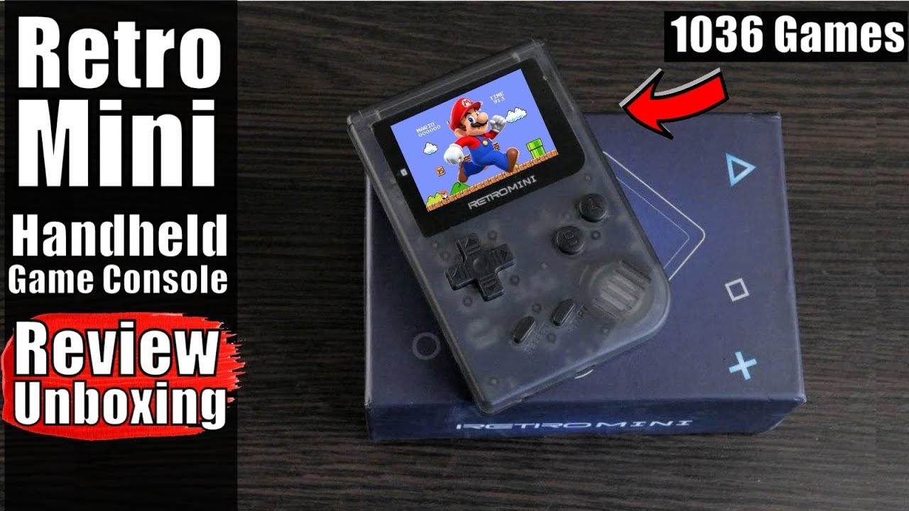 Retro Mini Handheld Game Console REVIEW: Game Boy is Back in 2018!