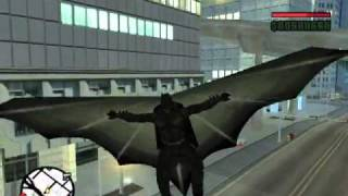 Repeat youtube video GTA San Andreas : The Dark Knight Begins (Mod & Parody)
