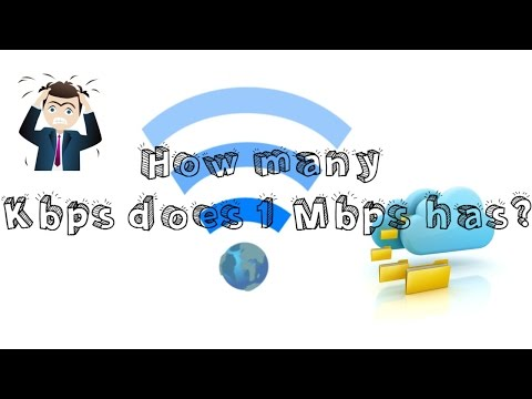 How many Kbps does 1 Mbps has? [EXPLAINED]