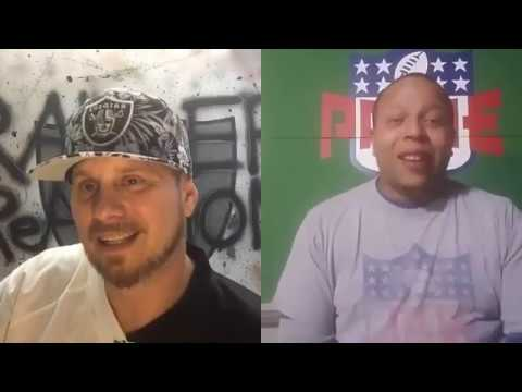 RAIDER ReACTION MONDAY NIGHT FOOTBALL 🏈 👻 GHOST to the POST 👻 🏈 HALFTIME SHOW!!! (Aired 10/16/17)