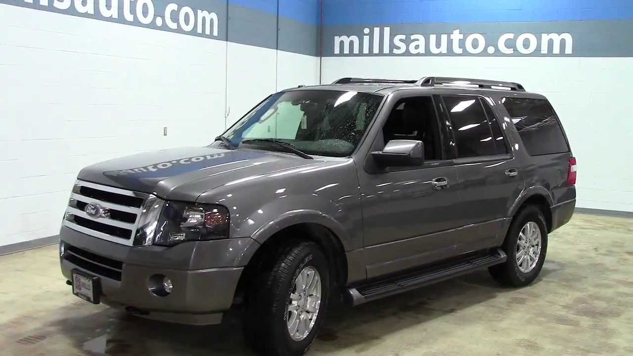 2013 ford expedition 4wd limited one owner certified 1u130201
