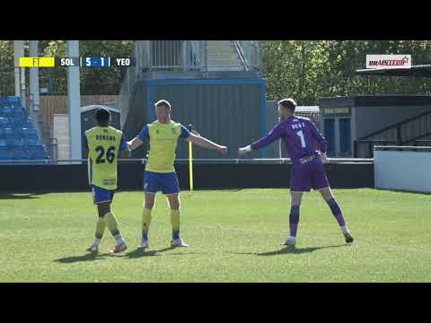 Solihull Yeovil Goals And Highlights