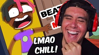 He Walked Into His Friends Room And Caught Him....(Reacting To True Story Animations)