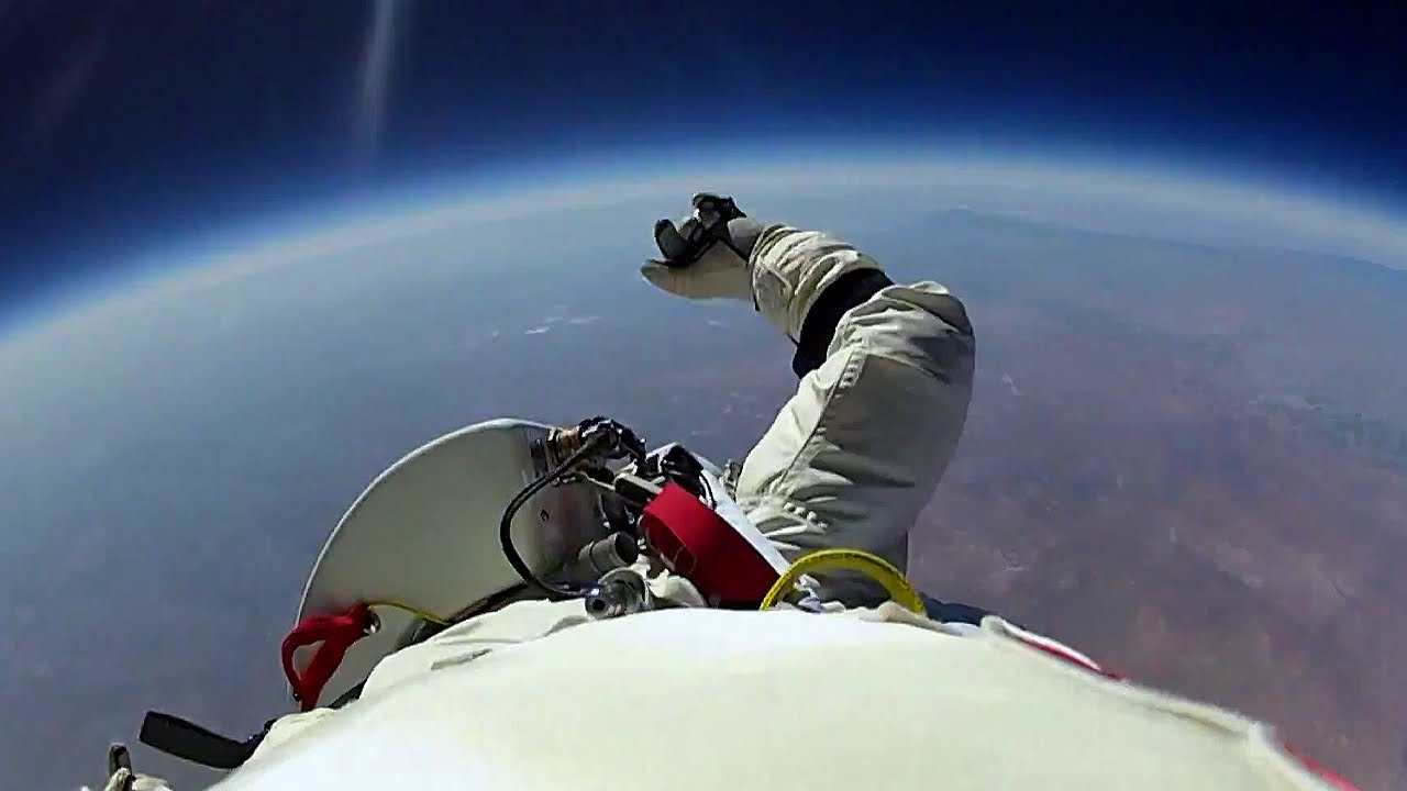 Space Jumping as the new Sky Diving?