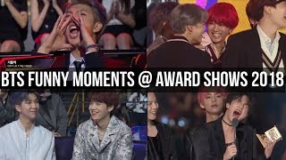 BTS Funny Moments @ Award Shows 2018