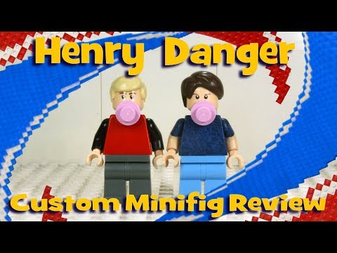 Henry Danger Custom Minifigs Review